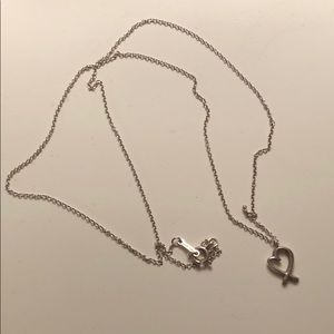 Tiffany and Co. Heart Necklace (REAL!)